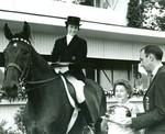 Margaret Fredericks and  Horse