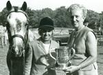 Mrs. John J. McDonald Presents Award to Miss Cindy Weiner