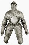 Blue Elizabethan Armor