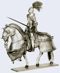 Model of a Suit of Armor for Man and Horse