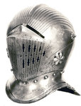 Reproduction of a German 1515 Helmet