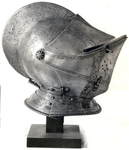 Fine Helmet Of Bright Steel
