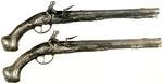 A Pair of Flint-Lock Pistols