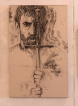 Mel Gibson as Hamlet by Dan Christoffel